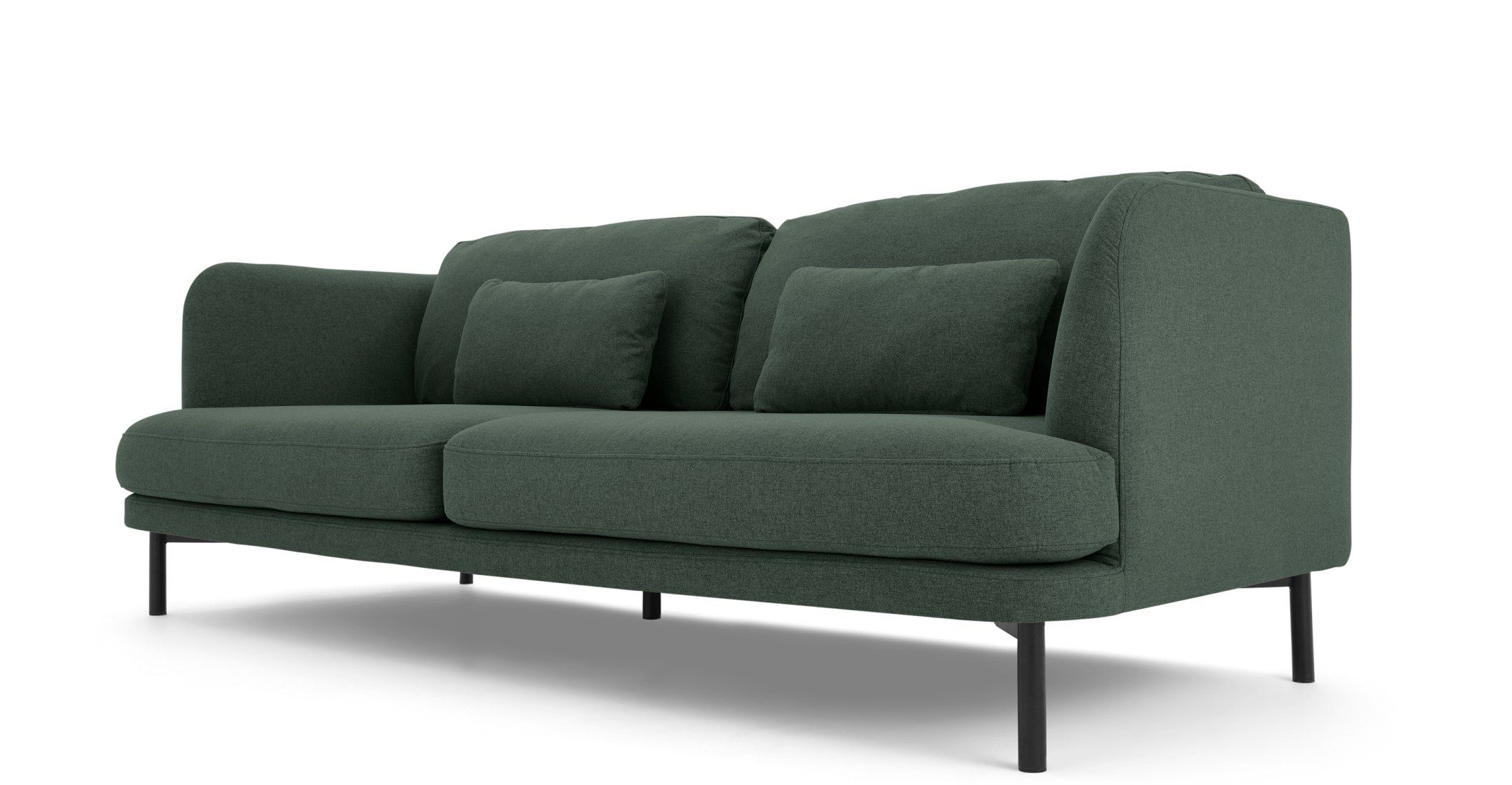 Herman 3 Seater Sofa, Woodland Green