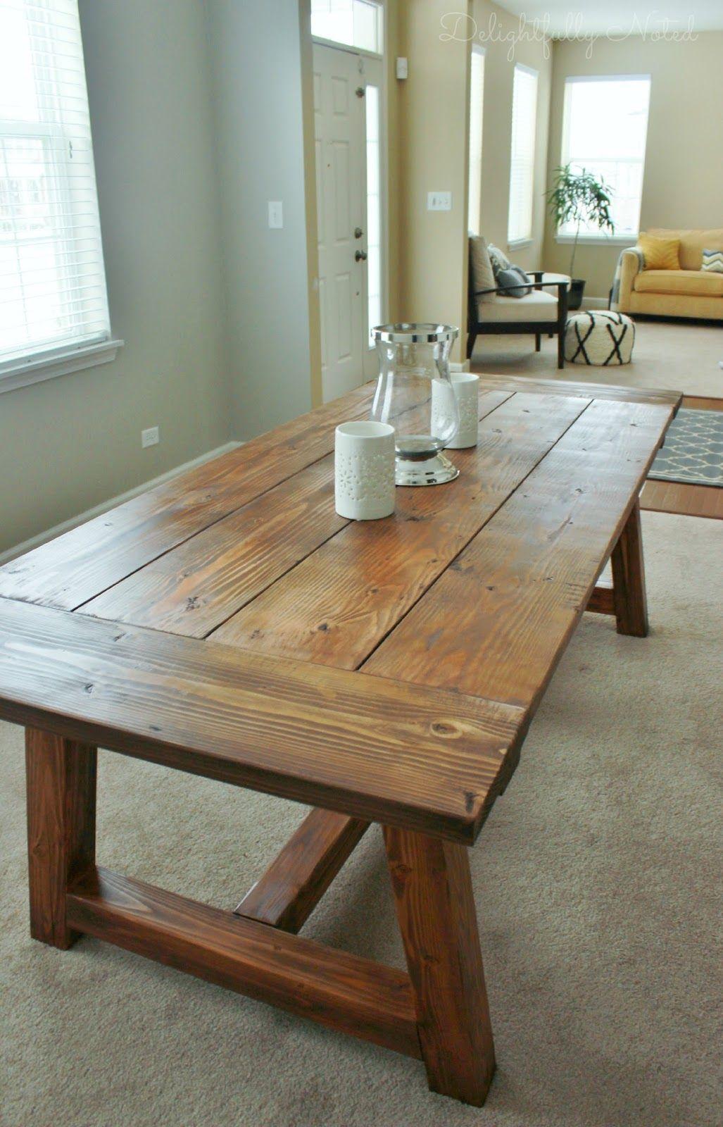 Holy Cannoli! We Built a Farmhouse Dining Room Table.