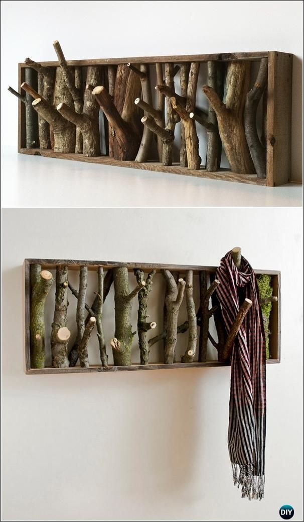 Holzscheite und Baumstümpfe DIY Ideen Projekte & Möbel Anweisungen – Wood Design