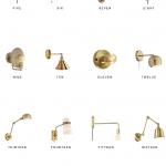 Home Trends | Brass Sconces - copycatchic