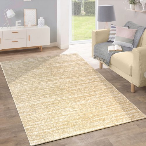 House of Hampton Nasir Yellow Rug | Wayfair.co.uk