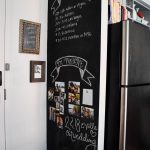 How To Design a Kitchen Chalkboard Wall - Heather Bien