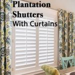 How To Pair Plantation Shutters With Curtains-Wasatch Shutter Design