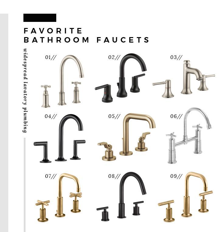 How We Choose : Widespread Bathroom Faucets – Room for Tuesday