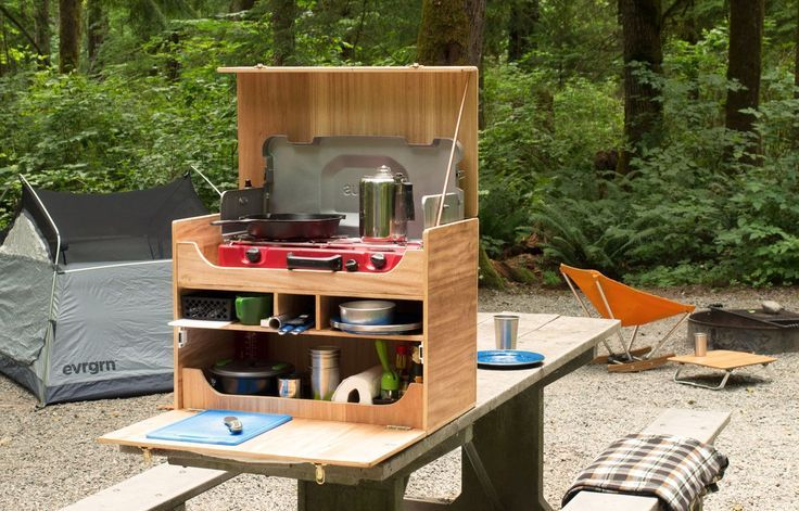 How to Build Your Own Camp Kitchen Chuck Box | REI Co-op Journal