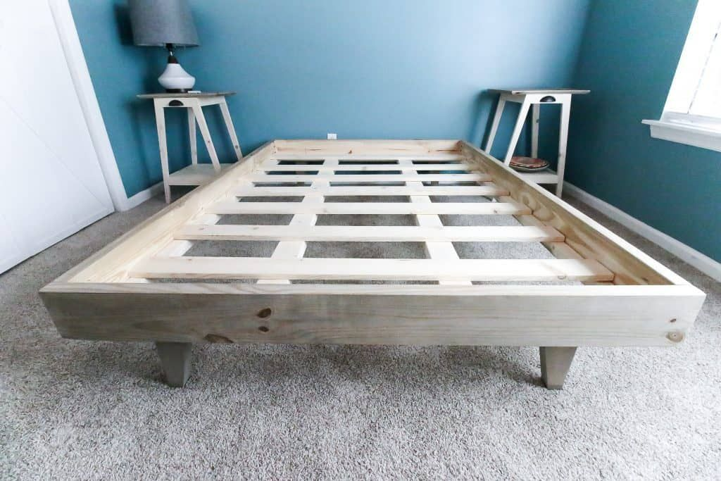 How to Build a Platform Bed for $50