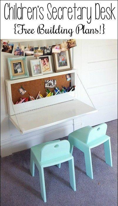 How to Build a Secretary Desk (or Murphy Desk) – pickndecor.com/design