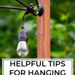 How to Install Deck Lighting using Edison Outdoor String Lights |