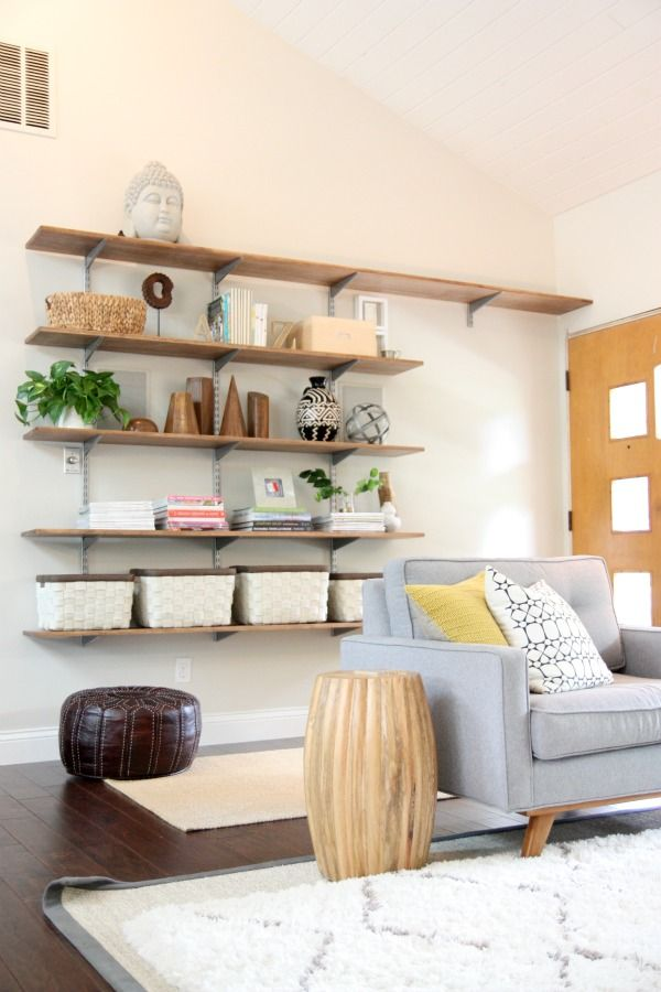 How to MAKE an Entryway When You Don't Have One