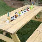How to Make a Drink Trough for a Picnic Table | Today's Homeowner