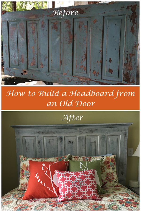 How to Make a Headboard from an Old Door