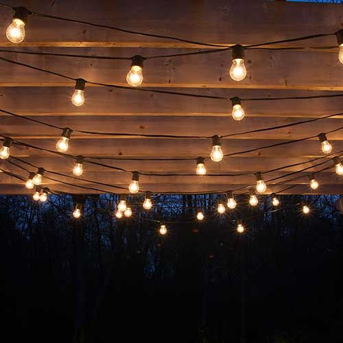 How to Plan and Hang Patio Lights – Christmas Lights, Etc
