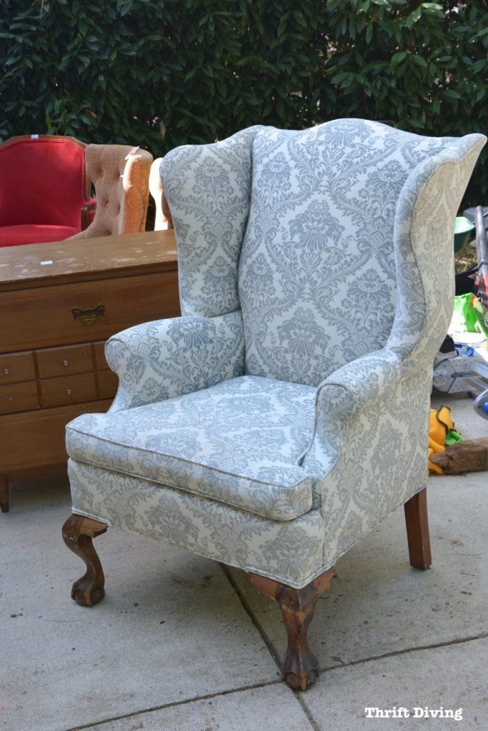 How to Reupholster a Wingback Chair: A Step-by-Step Tutorial and Guide