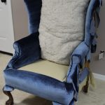 How to Reupholster the Back, Sides, and Outside of a Wingback Chair