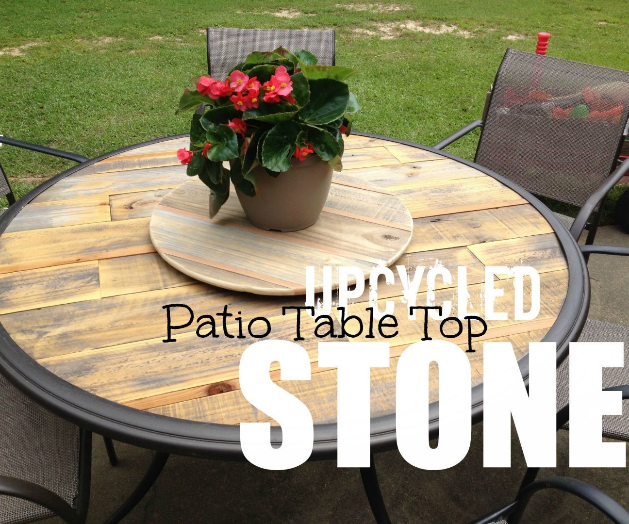 How to Upcycle a Broken Patio Table