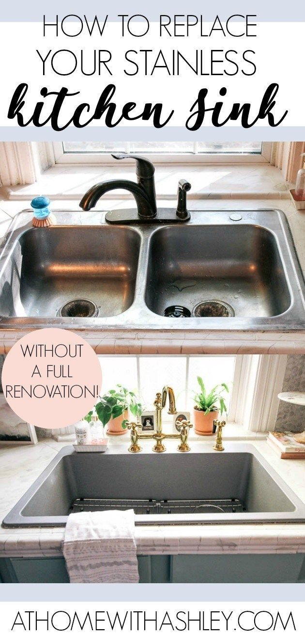 How to Upgrade your Kitchen Sink – at home with Ashley