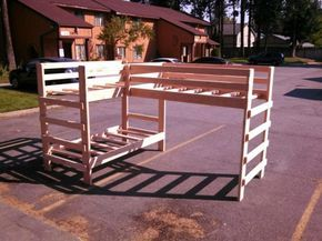 How to build a set of strong triple bunk beds diy project can help you manage sp…