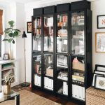 IKEA Billy Bookcase with glass doors - pickndecor.com/furniture