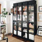 IKEA Billy Bookcase with glass doors - pickndecor.com/furniture