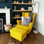 "IKEA Ireland on Instagram: ""Take a look at how @not_so_perfect_home has created the perfect reading corner using the bright yellow STRANDMON wing chair. The STRANDMON…"""