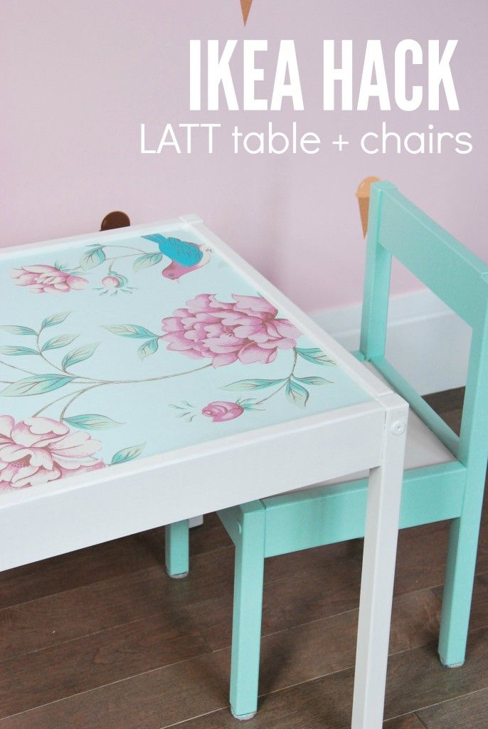 IKEA Latt Hack to Make the Cutest Table and Chair Set
