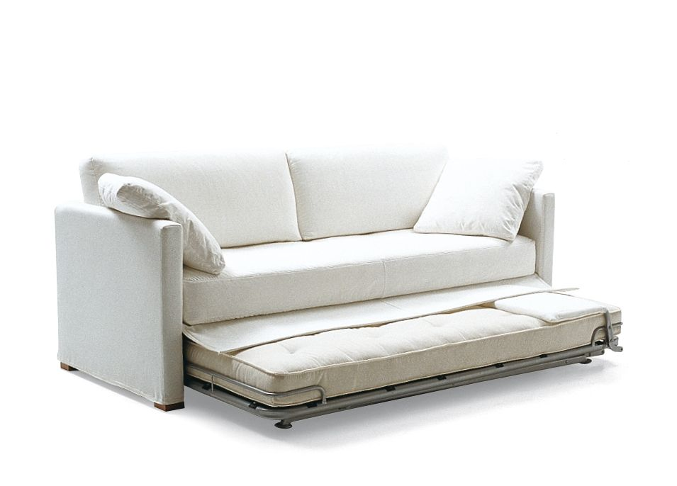 Ideal for a modern and friendly atmosphere: Sofa beds in white – storiestrending.com