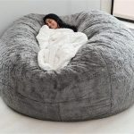 If you need us this fall, we'll be cuddled up in this huge pillow chair