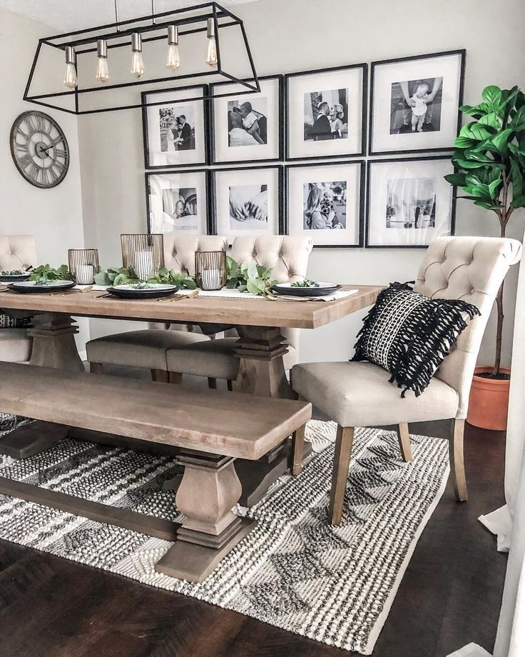 Image may contain: people sitting, table and indoor – Home Decoration