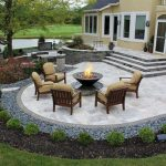 Imposing Stamped Concrete Backyard Ideas - tyuka.info
