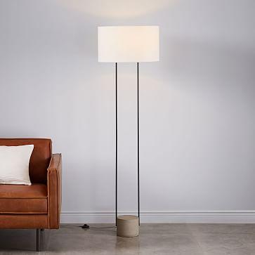 Industrial Outline Floor Lamp