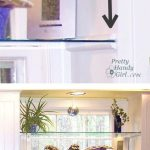 Install glass shelves in your kitchen window for plants and herbs! Great idea fo...