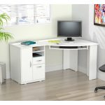 Inval America Corner Computer Desk & Reviews - Furniture - Macy's