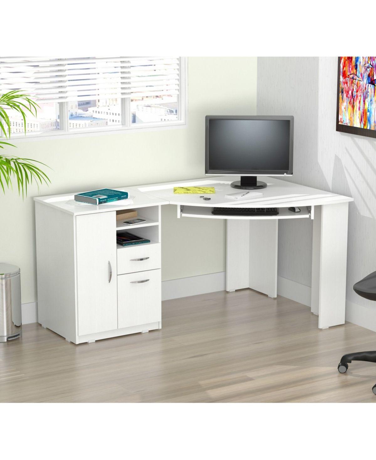 Inval America Corner Computer Desk & Reviews – Furniture – Macy's