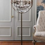 Iron Sphere Floor Lamp