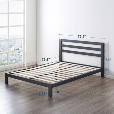 Ivy Bronx Harriett Heavy Duty Metal Platform Bed Frame | Wayfair
