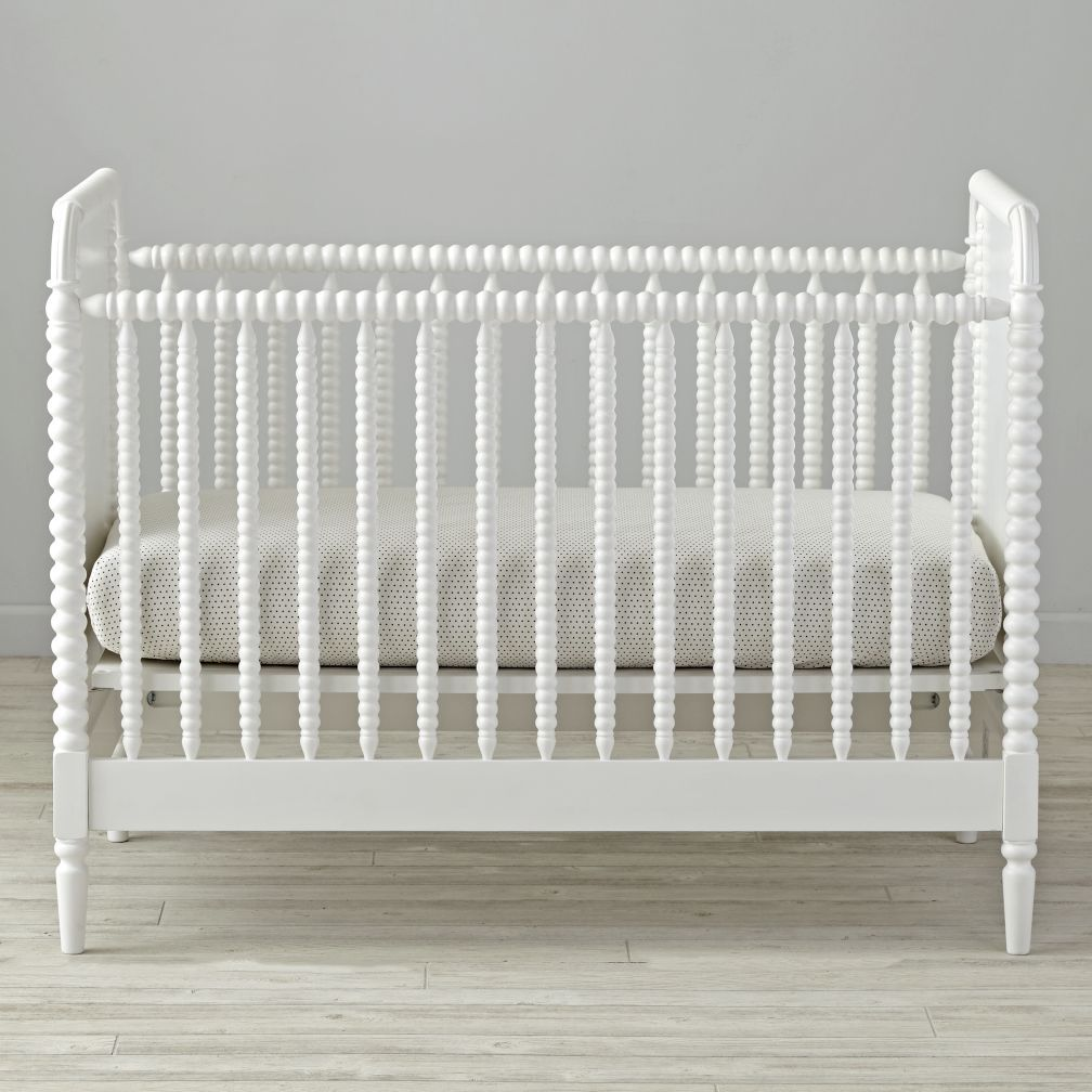 Jenny Lind White Crib | Crate and Barrel