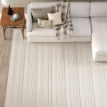 Jocelyn Parchment Handwoven Flatweave Wool White/Charcoal Area Rug