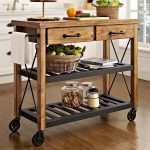 Kettering Industrial Kitchen Cart, Color: Natural - JCPenney