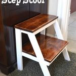 Kid's Step Stool - Her Tool Belt
