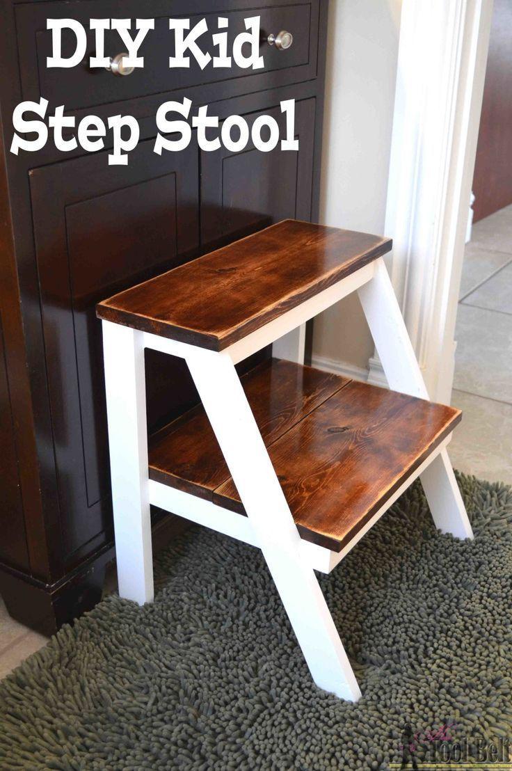 Kid's Step Stool – Her Tool Belt