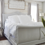 King Sleigh Bed Makeover using Chalk Paint — Jessica Diana Schlichtman