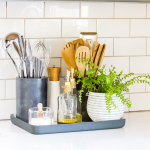 Kitchen Counter Organization in a Styling Way - Inspiration For Moms