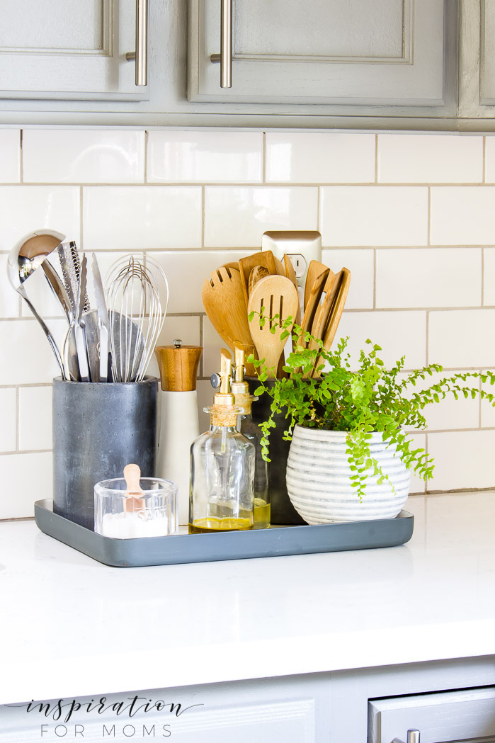 Kitchen Counter Organization in a Styling Way – Inspiration For Moms