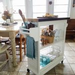 Kitchen Island Cart from Repurposed Materials - Prodigal Pieces