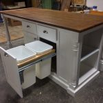Kitchen Island with Large Seating Area and Storage, Cutom Kitchen Island