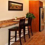 Kitchen Islands with Breakfast Bar | wall bar granite island buffet bar dining i...