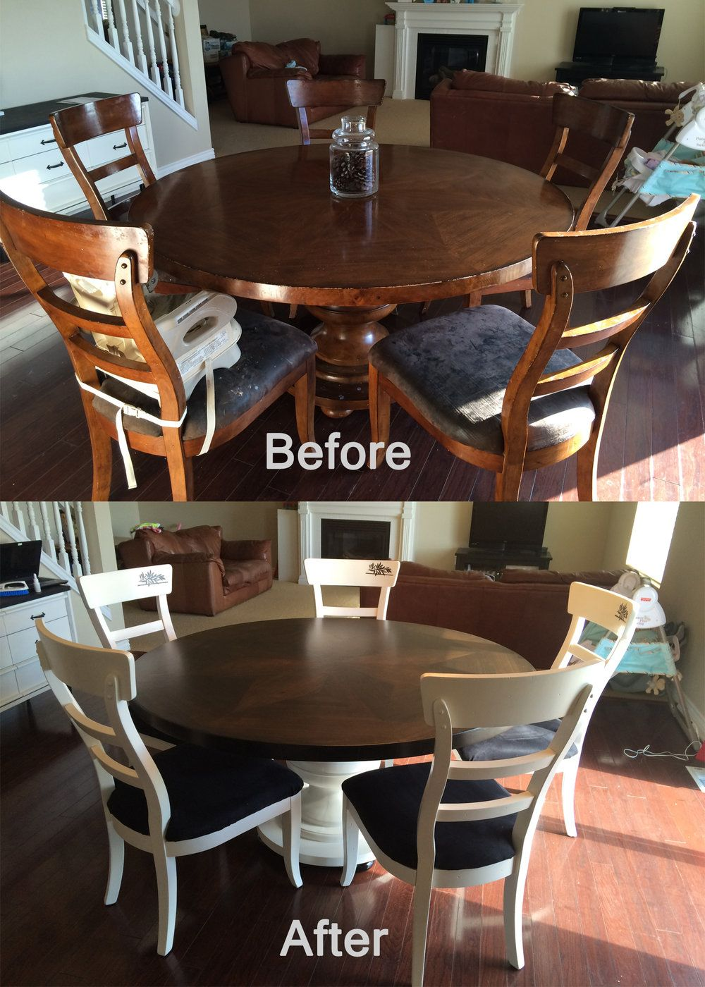 Kitchen Table & Chairs Refresh — Pendleton and Co.