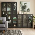 Kobi Large Wide Bookcase With Glass Doors | Bookcases & Bookshelves | Storage | ...