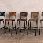 LEATHER RESTAURANT CHAIRS STACKABLE