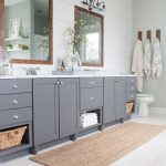 Lake House Master Bath Makeover - The Lilypad Cottage